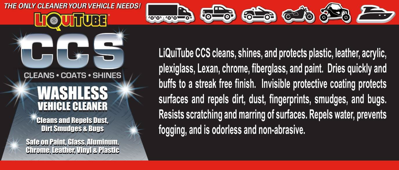 liquitube ccs washless vehicle cleaner